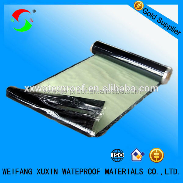 Self adhesive polymer modified bitumen waterproofing membrane for roofs