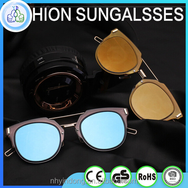 Fashion Simple Resto Sunglasses Lens Men Custom Sunglasses