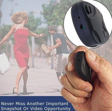 Wholesale 720x480 Car Key Chain Camera 808 Car Keychain Hidden Camera DVR Video Audio Recorder