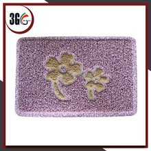 Double color PVC Combined Door Mat, PVC Design Mats without backing
