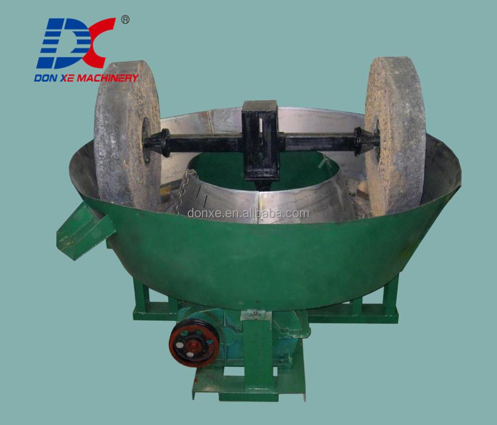 Gold Mill Grinding Machine,Wet Pan Gold Mill