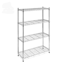 NSF &amp; ISO Approved Four Ties Wire Shelving Racks Adjustable <strong>Shelves</strong>