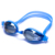 Colors lens adjustable ce wide vision mirrored coated swimming goggles