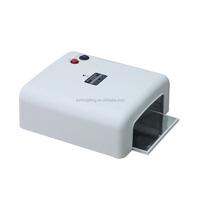 Combine Set 36W UV Lamp Gel Polish Dryer Light + Acrylic Nail Art Kit Set #1 UK