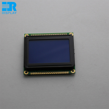 small size 12864 lcd display module graphic STN blue mode white backlight
