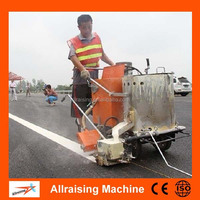 Hand Push Thermoplastic Road line Marking Machine/Road Marking Paint Machinery