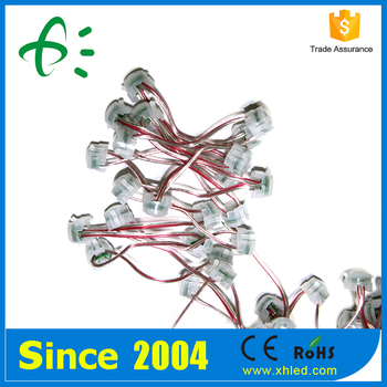 CE ROHS Approved IP67 30000H Lifespan 20mm Single Color LED Pixel Poi