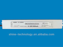 waterproof 5-50vdc constant current led driver 350ma 18w