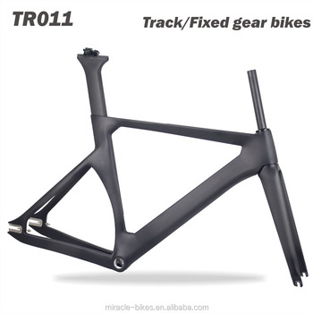 2017 New model Carbon Track Bike frame,T700*25C Track Bike carbon Frame,carbon single bicycle frame