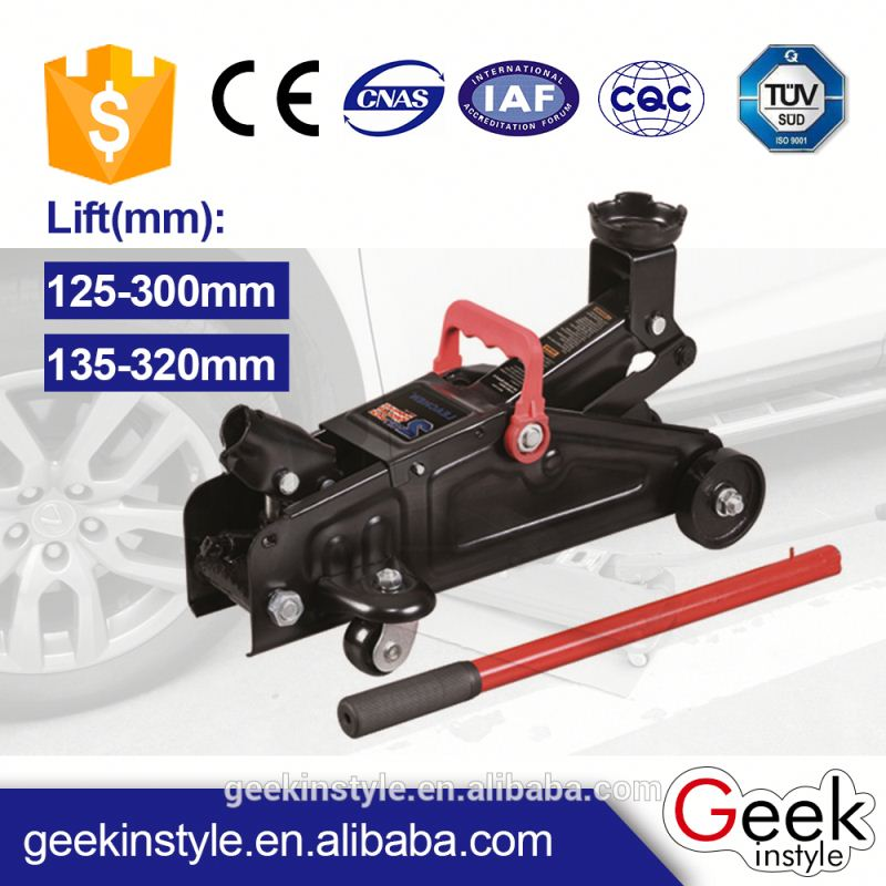 LC8501 China Ningbo LiCheng Wholesale Sedan Car Hold Up The Weight Hydraulic Jack Manual Type 2T mechanical bottle jacks