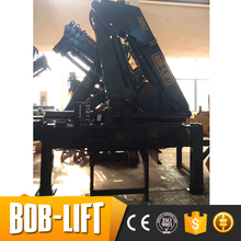 Man lift crane mini lifting truck mounted boom lift crane