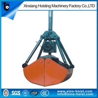 Best Selling Hydraulic Orange Peel Grab And Clamshell Bucket For Material Handling