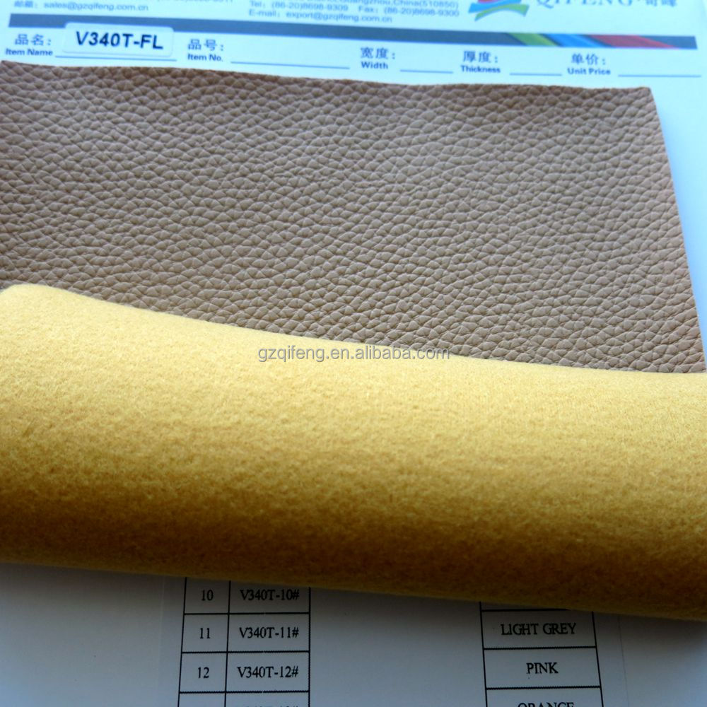 PVC synthetic leather for sofa and bags, car seat with FL Chemical