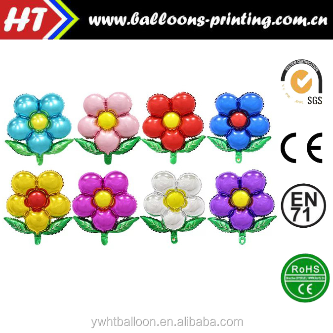 2016 New Arrival Flower Normal Air Foil balloon Birthday/<strong>Wedding</strong>/Events Party Decoration balloon