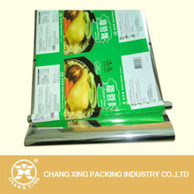 high barrier flexible plastic film for Snack Food Packaging/Candy /Cracker/Dried Fruit Packaging