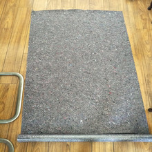 recycled felt materials for protecting floor
