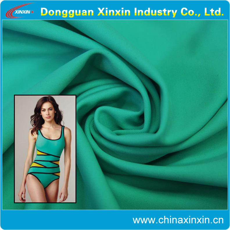 wholesales 4 way stretch nylon lycra fabric for swimwear