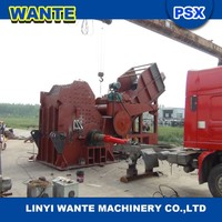 New design scarp car shredder/car crusher/ metal recycling machine from professional manufacturer