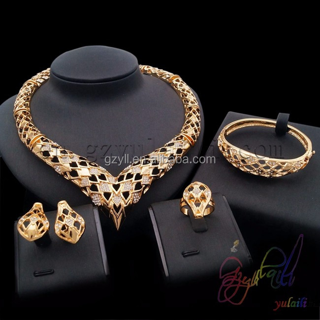 21 carat gold jewelry Turkish jewelry set Gold wedding rings