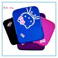 Easy Carrying13 Inch Zipper Kitty Laptop Sleeve Zipper Notebook Protective Bag Neoprene Zipper PAD Bag