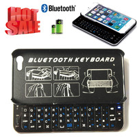 High quality cheap Slide-out Wireless Bluetooth Keyboard for iphone6 iphone 6s