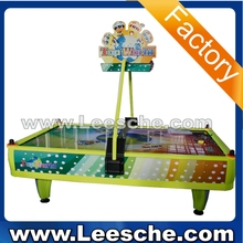 LSJQ-785 New arrival hot flash 4 players air hockey game inddor coin operated amusement machine classic sport air hockey table