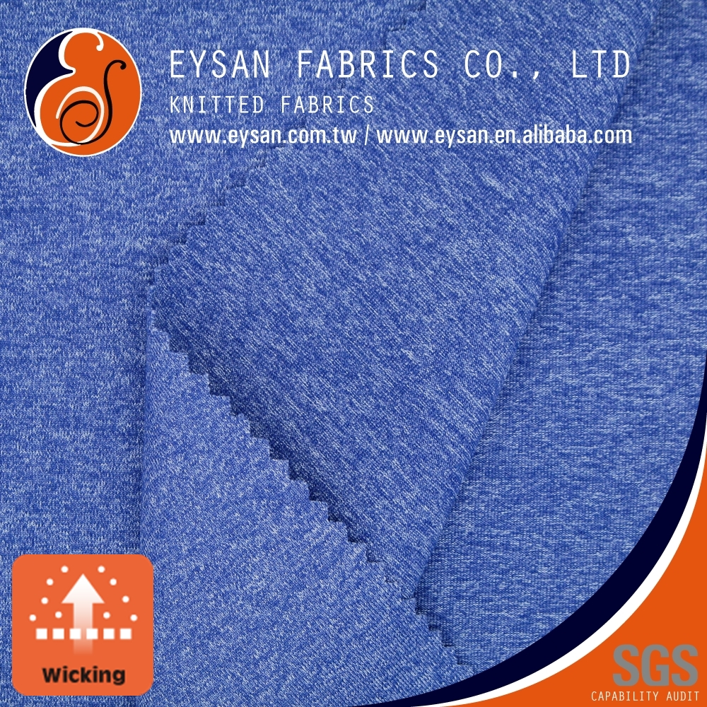 EYSAN Wicking Nylon Polyester Blend Spandex Fabric for Sportswear