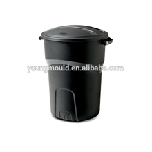 Aluminum Die Casting Mould Making for Wastebin Plastic Trash Can Mold