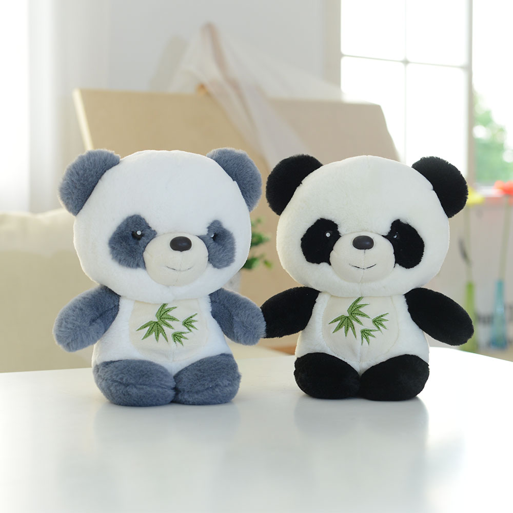 Professional customized soft plush panda toy
