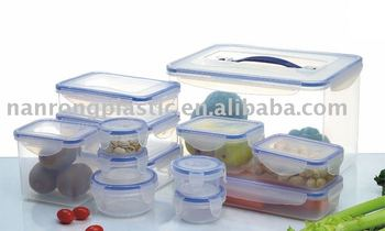 High Quality Airtight Plastic Food Container / food storage container / food contain