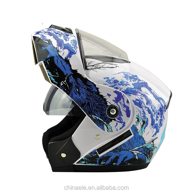 The best quality and best price double visor Flip Up Helmets