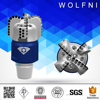 stability fast rotary tungsten carbide tipped pdc bit drills