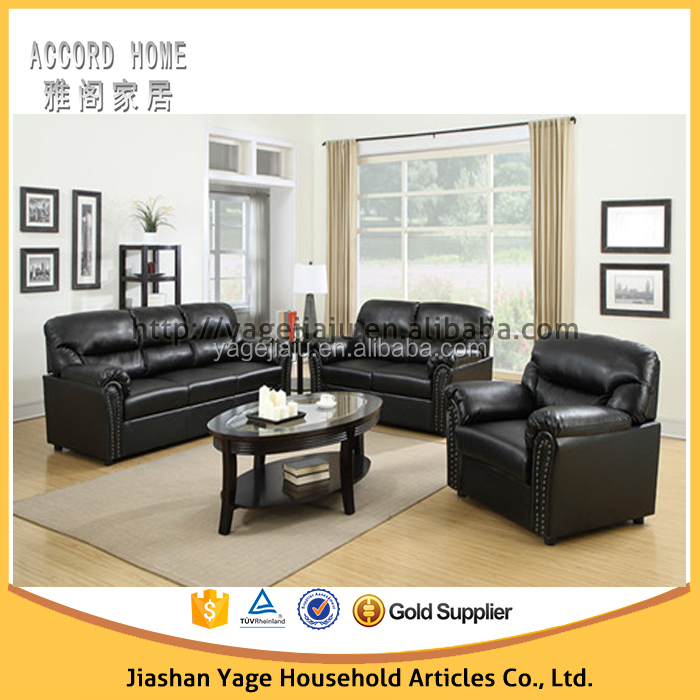 Living room furniture 6 seater cheap sofa set