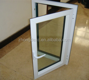 SHANXI Zhongde brand,80MM Sliding series upvc profile White color CE certificate