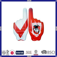 new product custom made pvc inflatable finger
