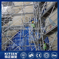 Portable cheap safety ringlock metal scaffolding