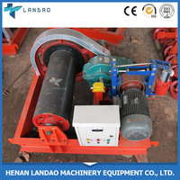 High quality 10 ton hydraulic winch building material price winch
