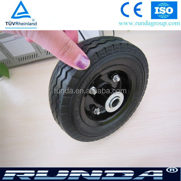 light duty 6 inch solid rubber tires