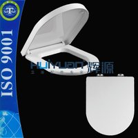 elongated UF material soft close toilet seat cover duroplast toilet seat European standard