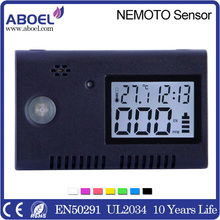 Lithium Battery Operated Handheld CO Detector with LCD Display