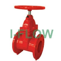 UL FM fire fighting AWWA C515 NRS 200 psi flanged gate valve
