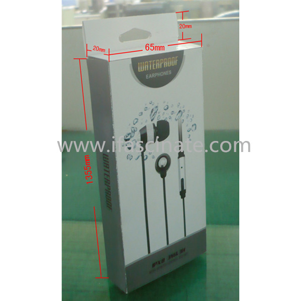 Hot selling IP68 Passed stereo earphone for sports