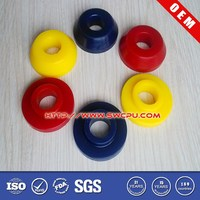 Colored rubber push grommet,rubber button grommet