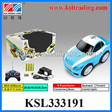 5 Function rc cars with rechargeable battery
