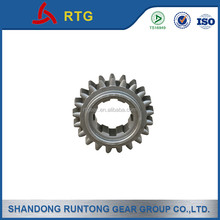 Spur steel gear TS 16949 certified
