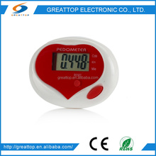 promotional instructions for using pedometer GT-PDM-1215
