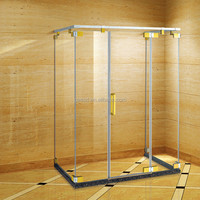 deluxe walk in glass shower enclosure GD9018