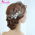 Factory Direct Wedding Barrettes Beads Tubular Beads Branch Bridal Hair Grips Beach Hair Accessories Hair Clip