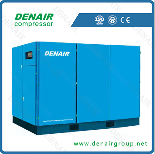 Patent technology stationary screw air compressor 40 bar