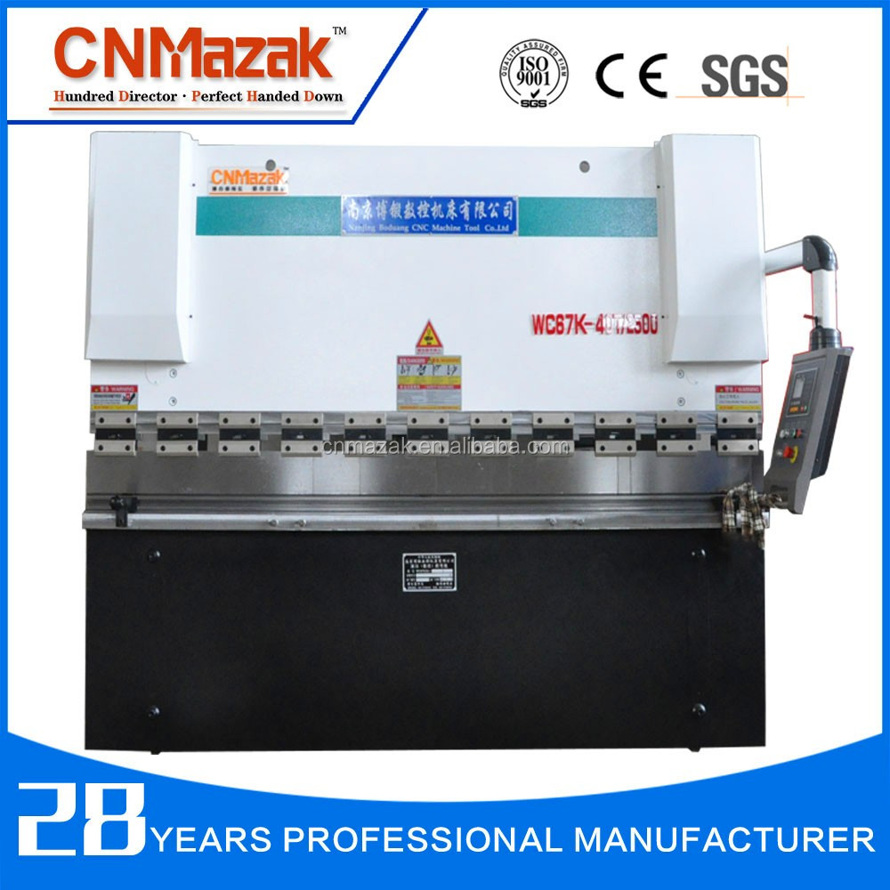 2016 New Design CNMazak Press CNC press brake with Delem controller /WC67Y/<strong>K</strong> 125*3200 WC67k-200T4000